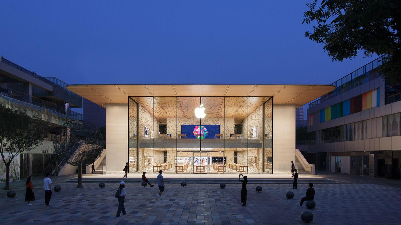 Apple otwiera nowy Apple Store, który zaskakuje designem!
