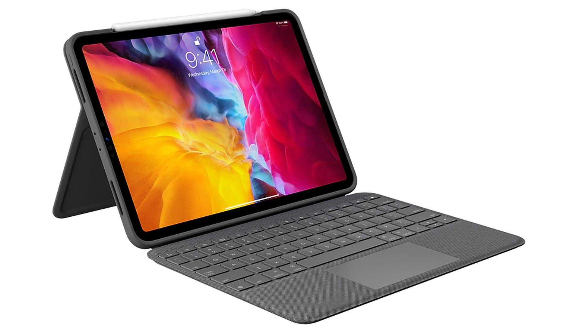Dostępne etui Logitech Folio Touch Keyboard z gładzikiem do 11 calowego iPada Pro