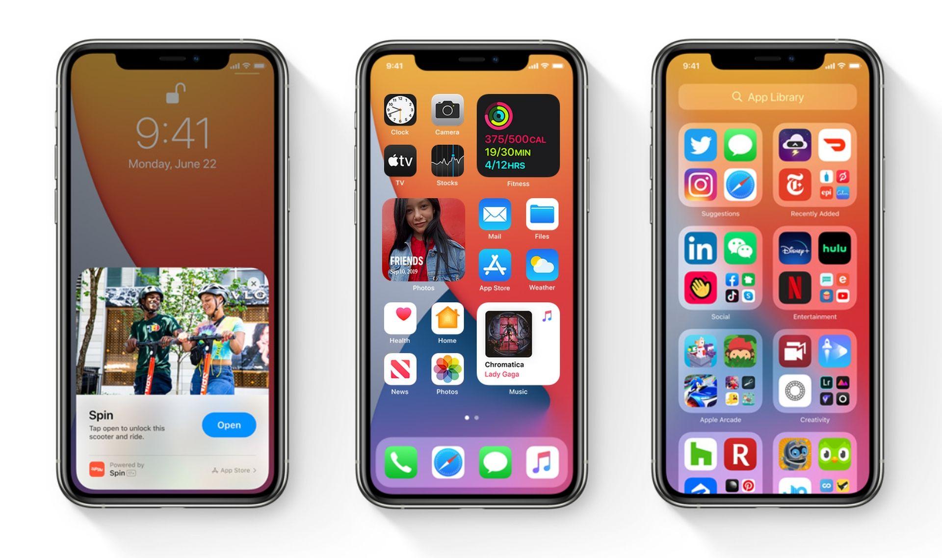Firma Apple udostępniła aktualizację systemu iOS 14.0.1