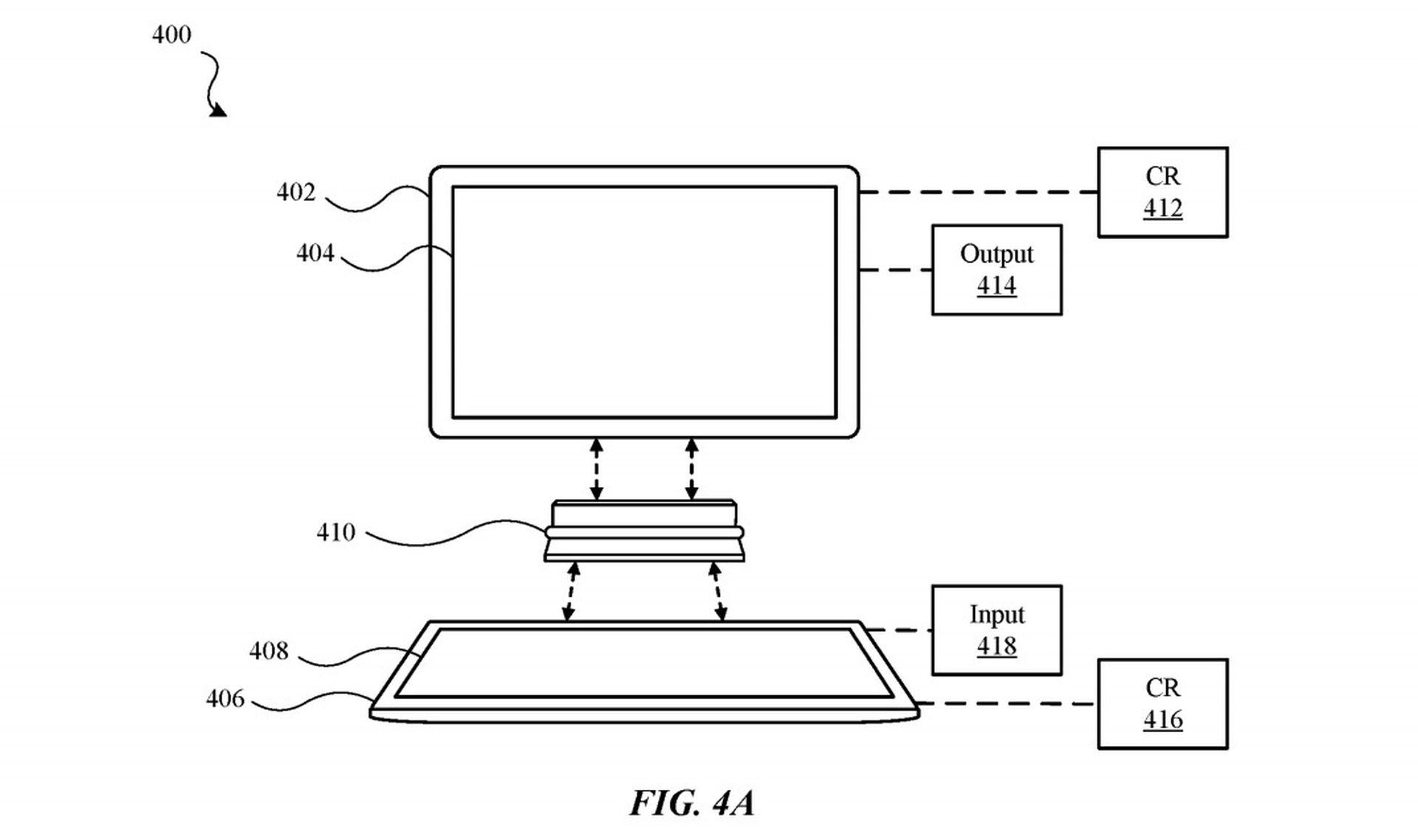 Patent na urządzenie, które połączy dwa urządzenia mobilne od Apple