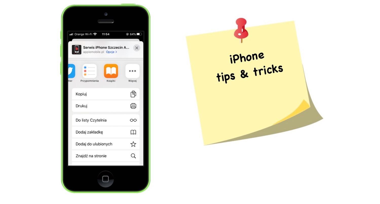 Jak korzystać z menu udostępniania na iPhonie i iPadzie