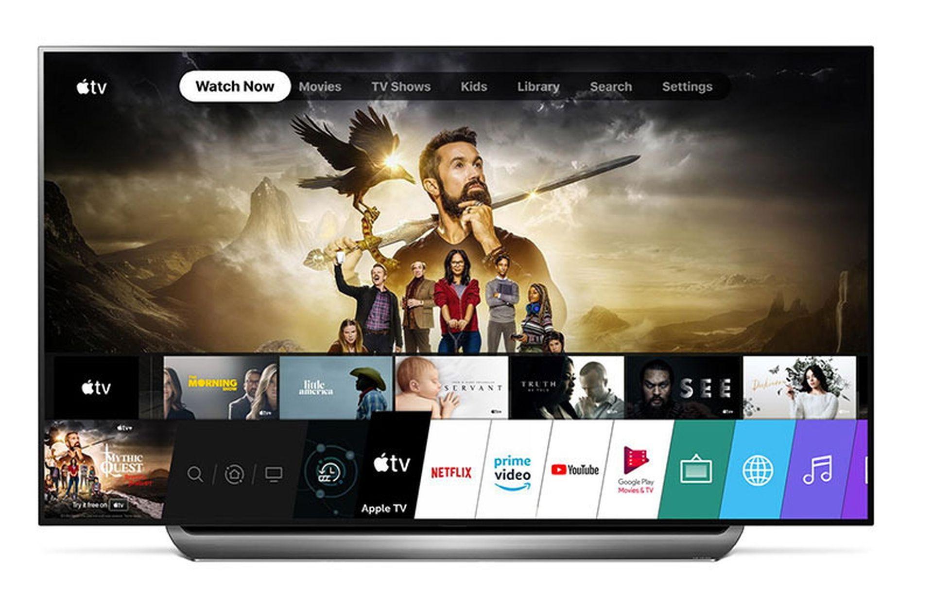 LG dodaje Apple TV do wybranych smart telewizorów z 2018 roku