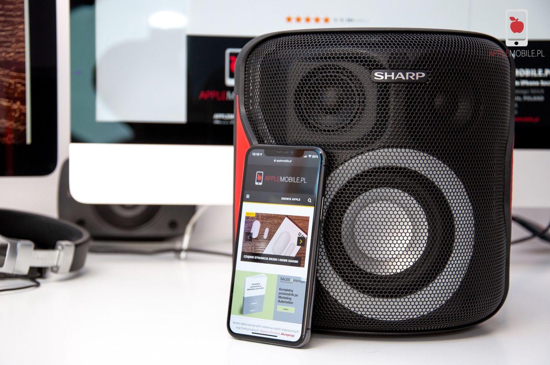 Recenzja SHARP PS-919 Party Speaker System | Przenośny głośnik o mocy 130W i z potężną baterią za 500 PLN