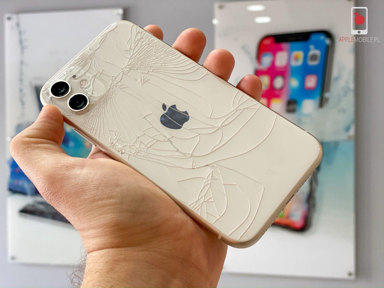 Zbita obudowa w iPhone? Wymiana klapki obudowy w iPhone 11 / 11 Pro / 11 Pro Max