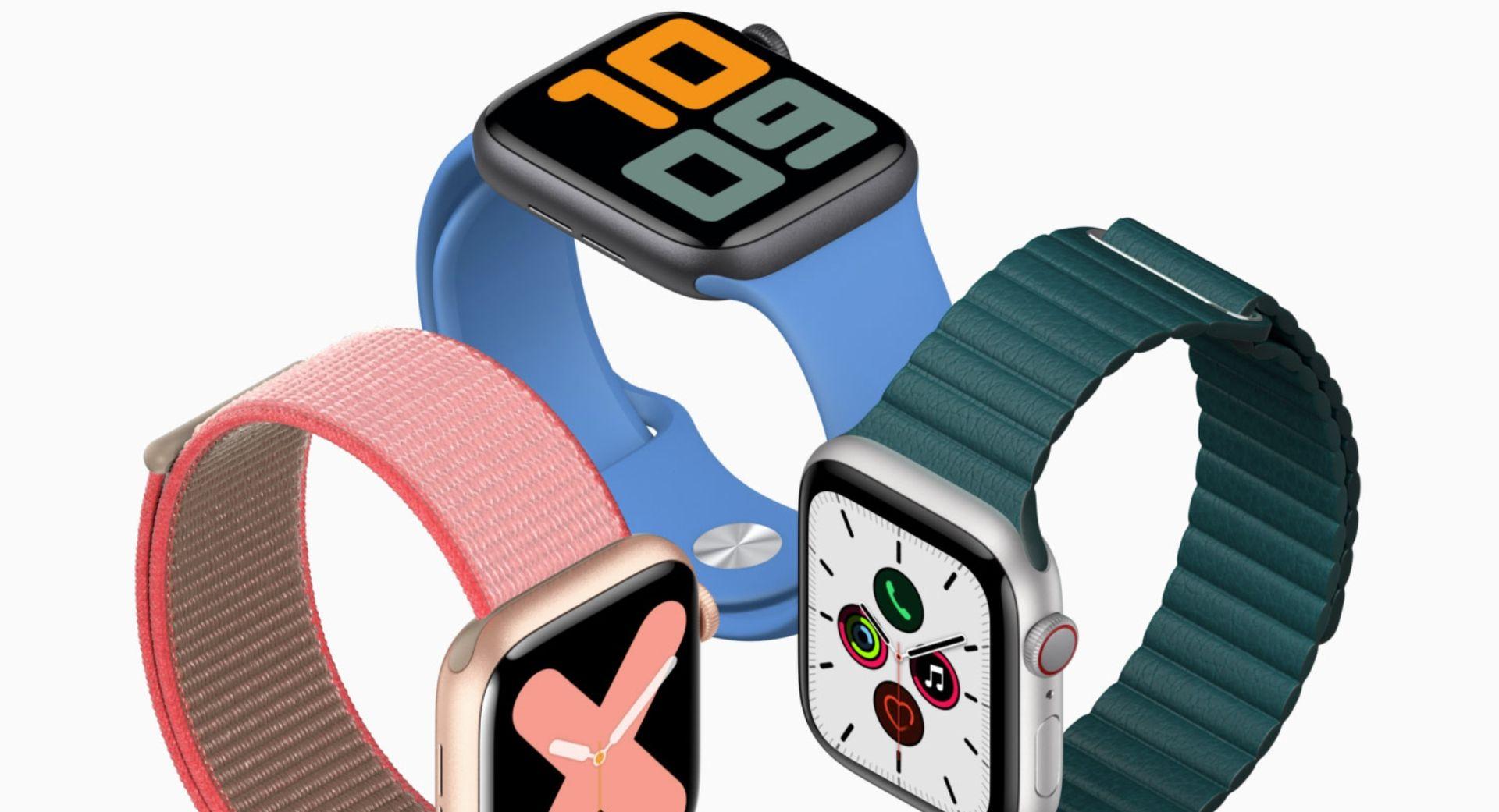 Zegarki Apple Watch Series 5 mają problemy z bateriami