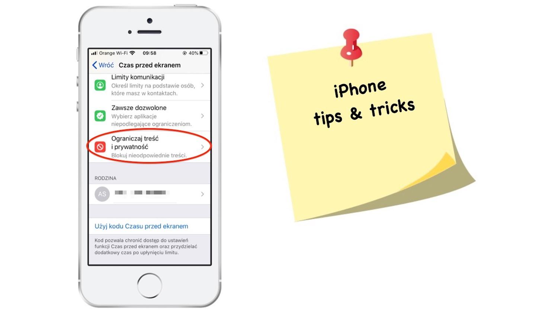 Jak zablokować możliwość instalacji i kasowania aplikacji na iPhonie