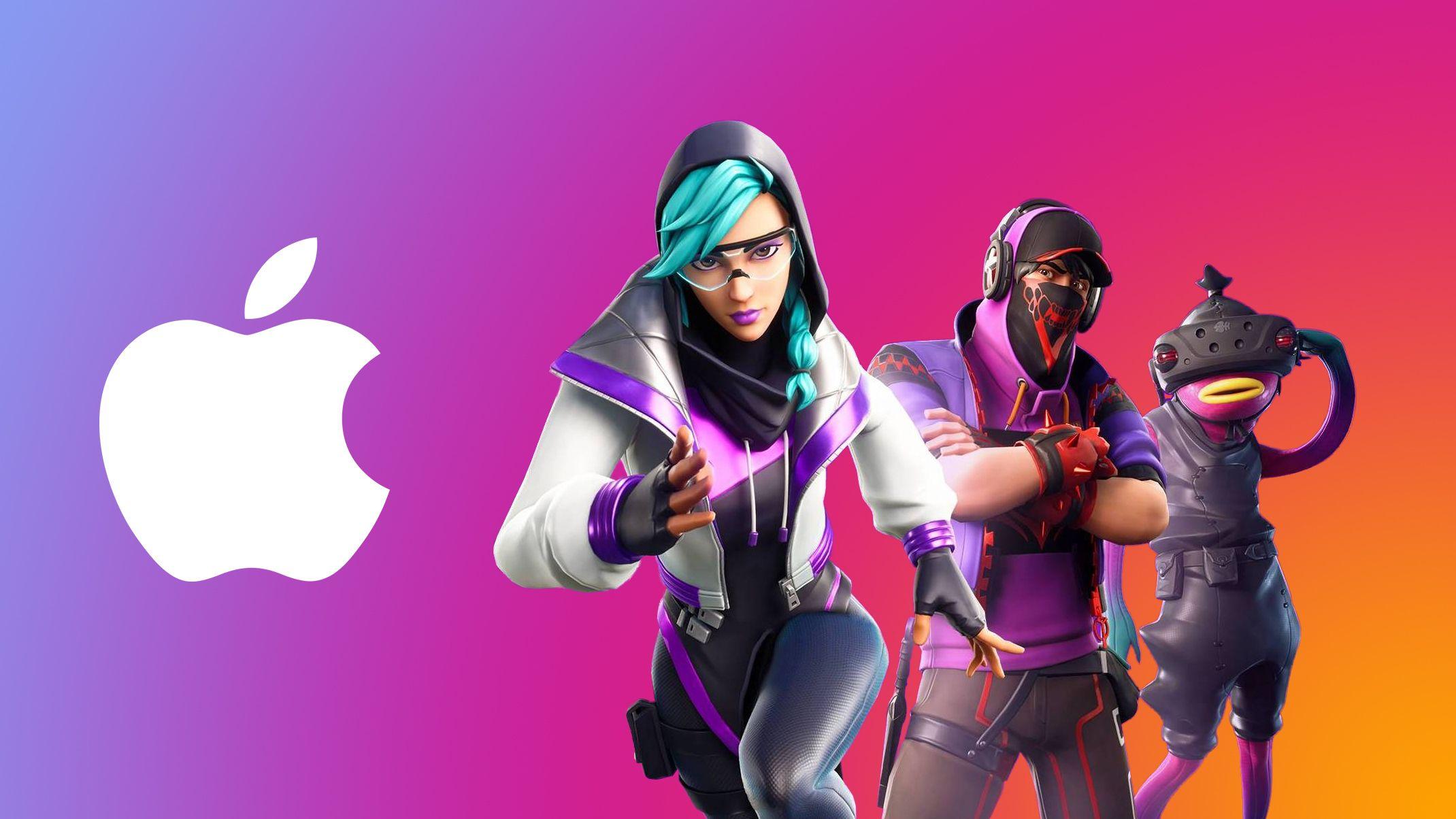 Apple zamknęło konta developerów Epic Games, czyli twórców Fortnite