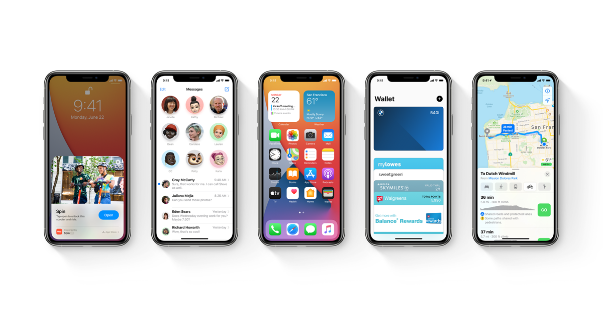 Apple udostępnia iOS 14 i iPadOS 14 beta 5!