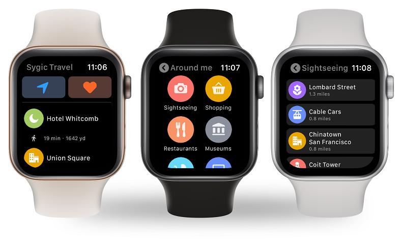 Mapy Google powracajądo Apple Watch'a!