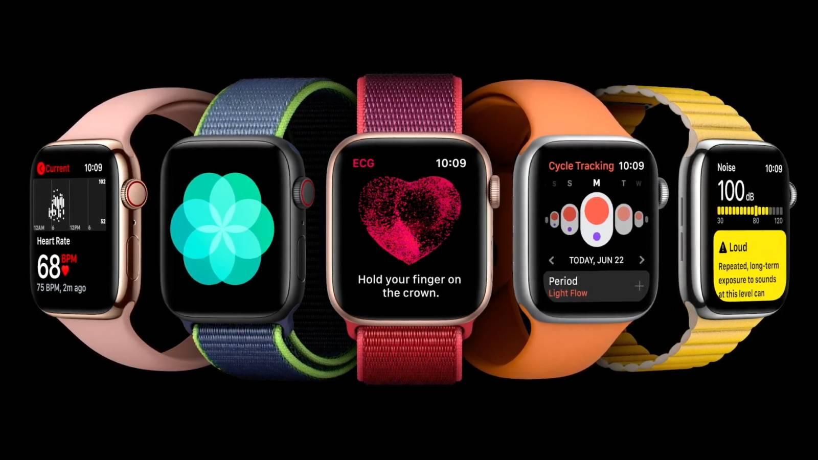 Apple udostępnia trzeciąpublicznąwersję beta systemu watchOS 7