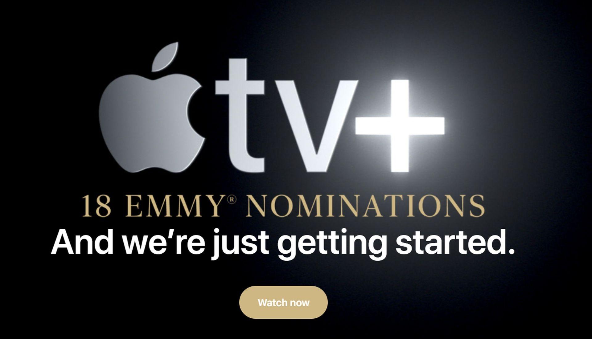 Firma Apple poinformowała o 18 nominacjach do nagród Emmy