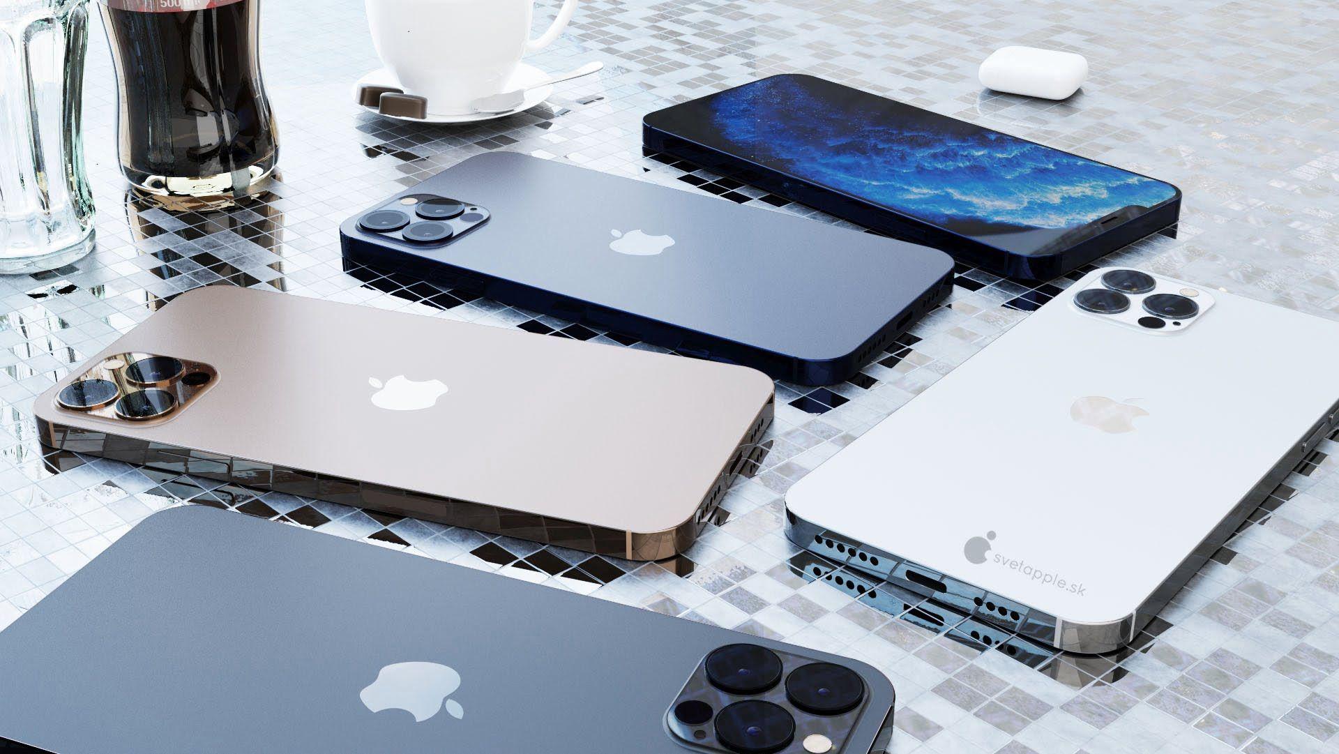 Nowa koncepcyjna wizja iPhone'a 12 Pro z ekranem 6,1 cala