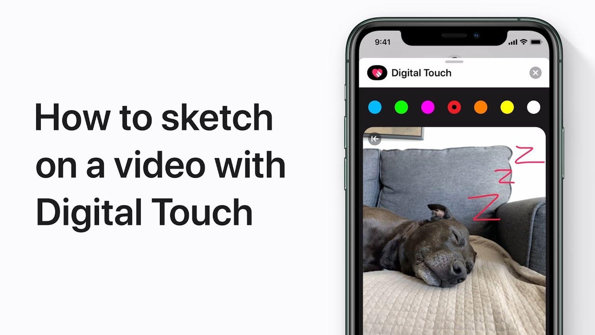 Poradnik Apple: Jak rysować na wideo za pomocą Digital Touch