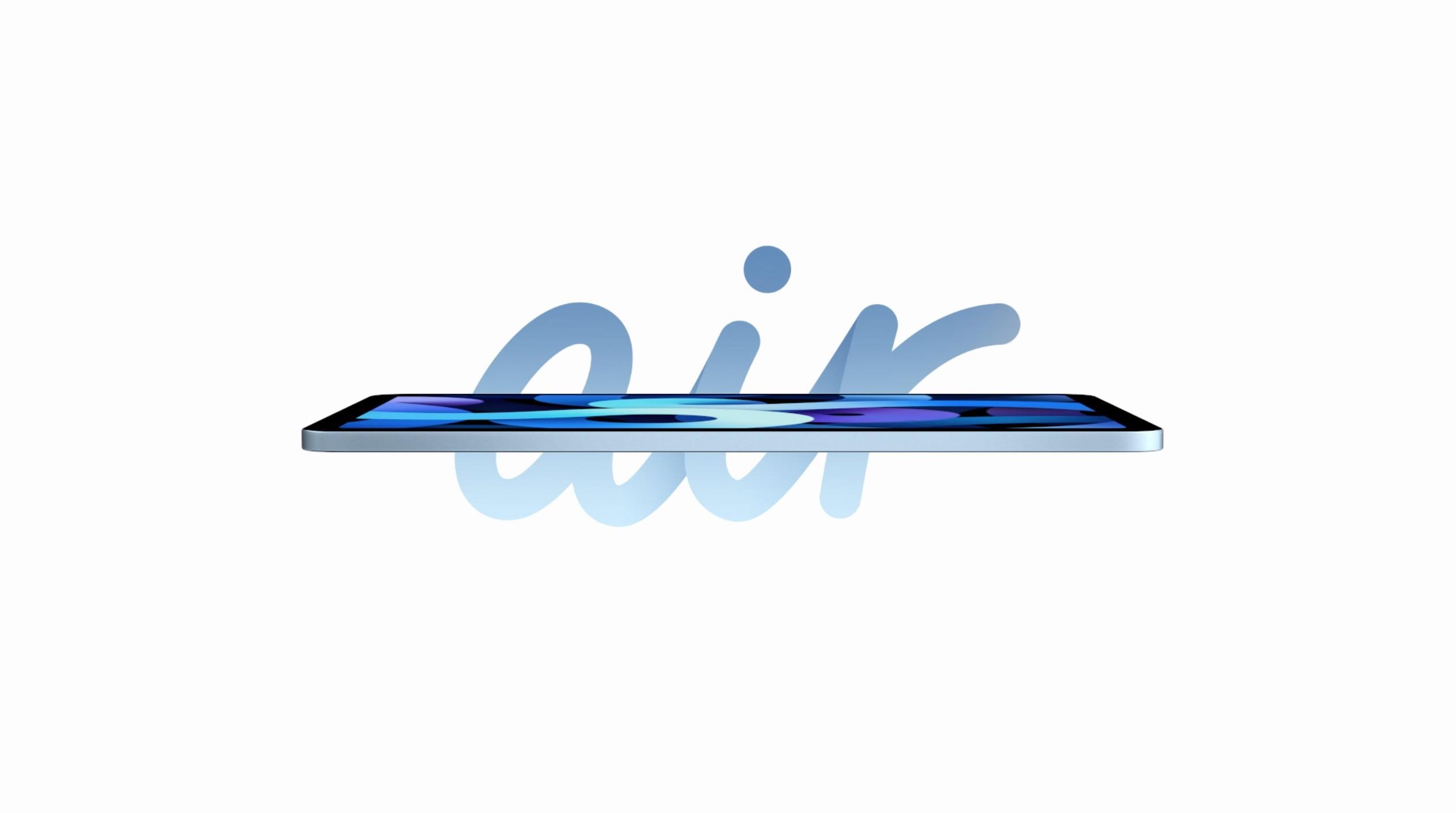 iPad Air 2020 w aż 5 kolorach i z Touch ID w przycisku POWER