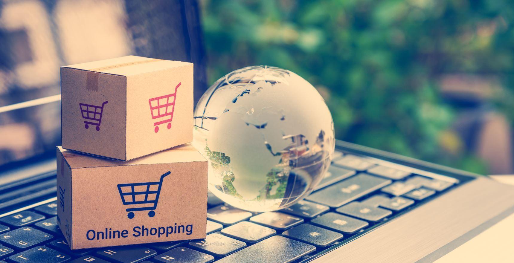 Zamów kuriera z e-commerce za pośrednictwem smartfona