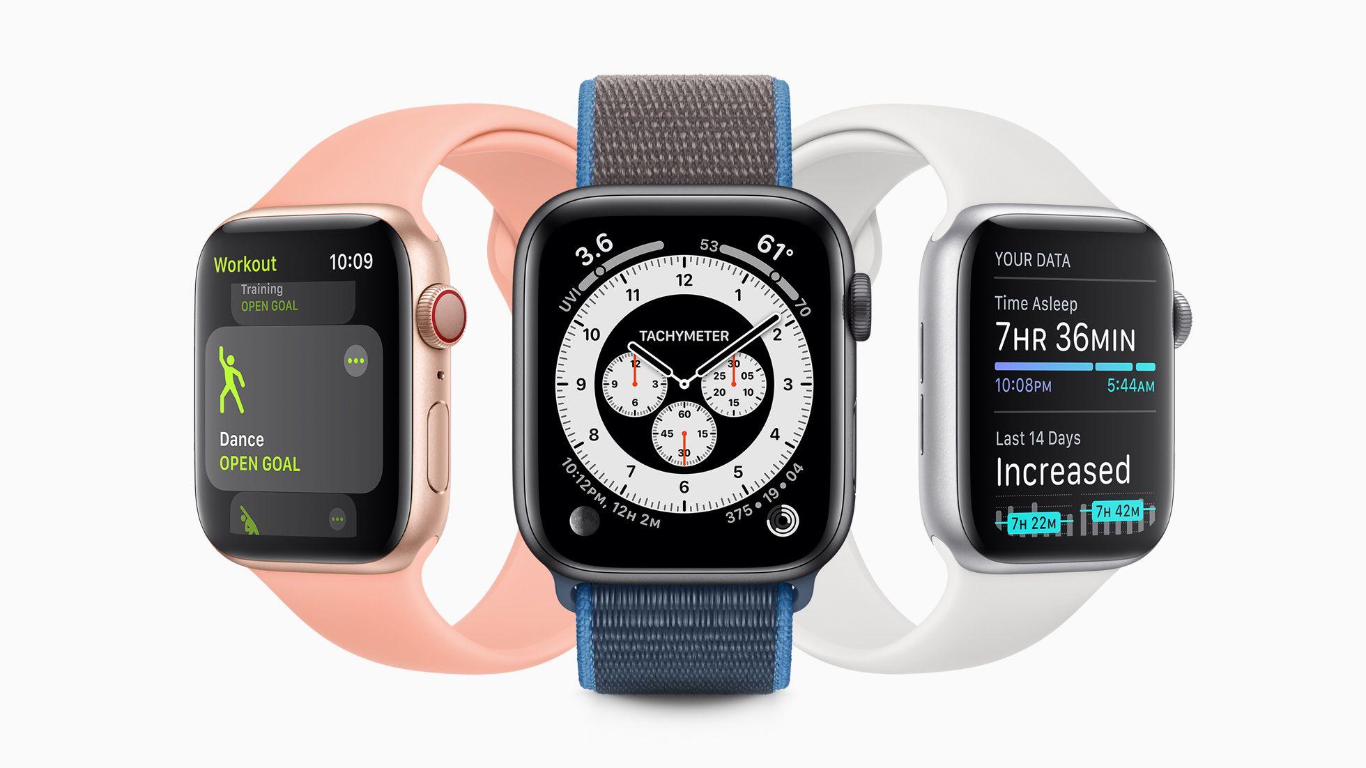 Apple Watch Series 6 ma byćoferowany w nowym kolorze!