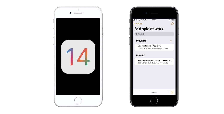 iOS 14 – nowości w aplikacji Notatki