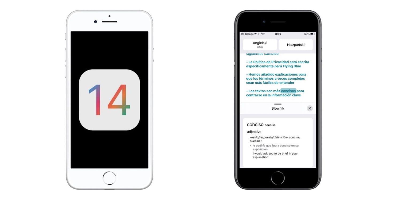 iOS 14 – tłumacz Apple