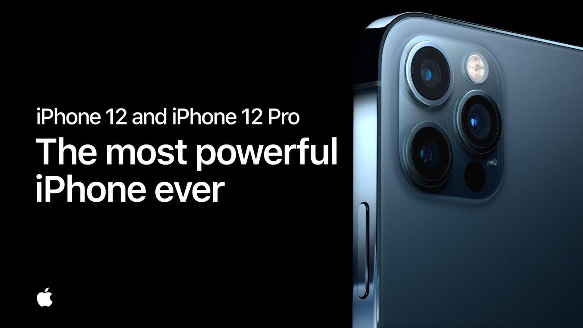 Firma Apple udostępniła nowe reklamy iPhone'ów 12 i 12 Pro