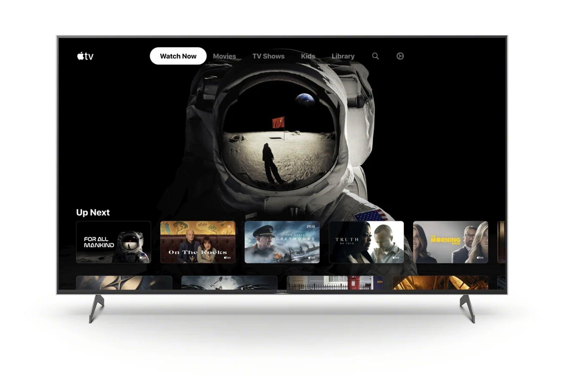 Firma Sony dodała aplikację Apple TV do niektórych telewizorów