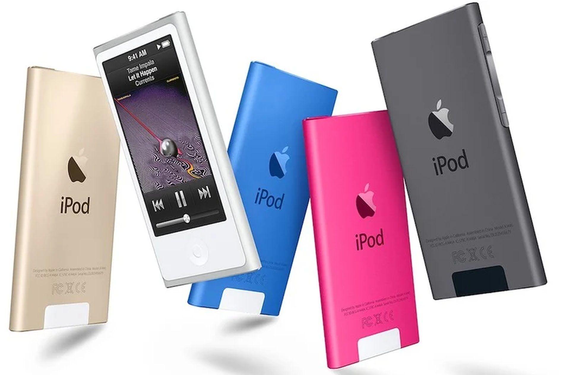 Na liście starych produktów znalazł się iPod Nano z 2015 roku