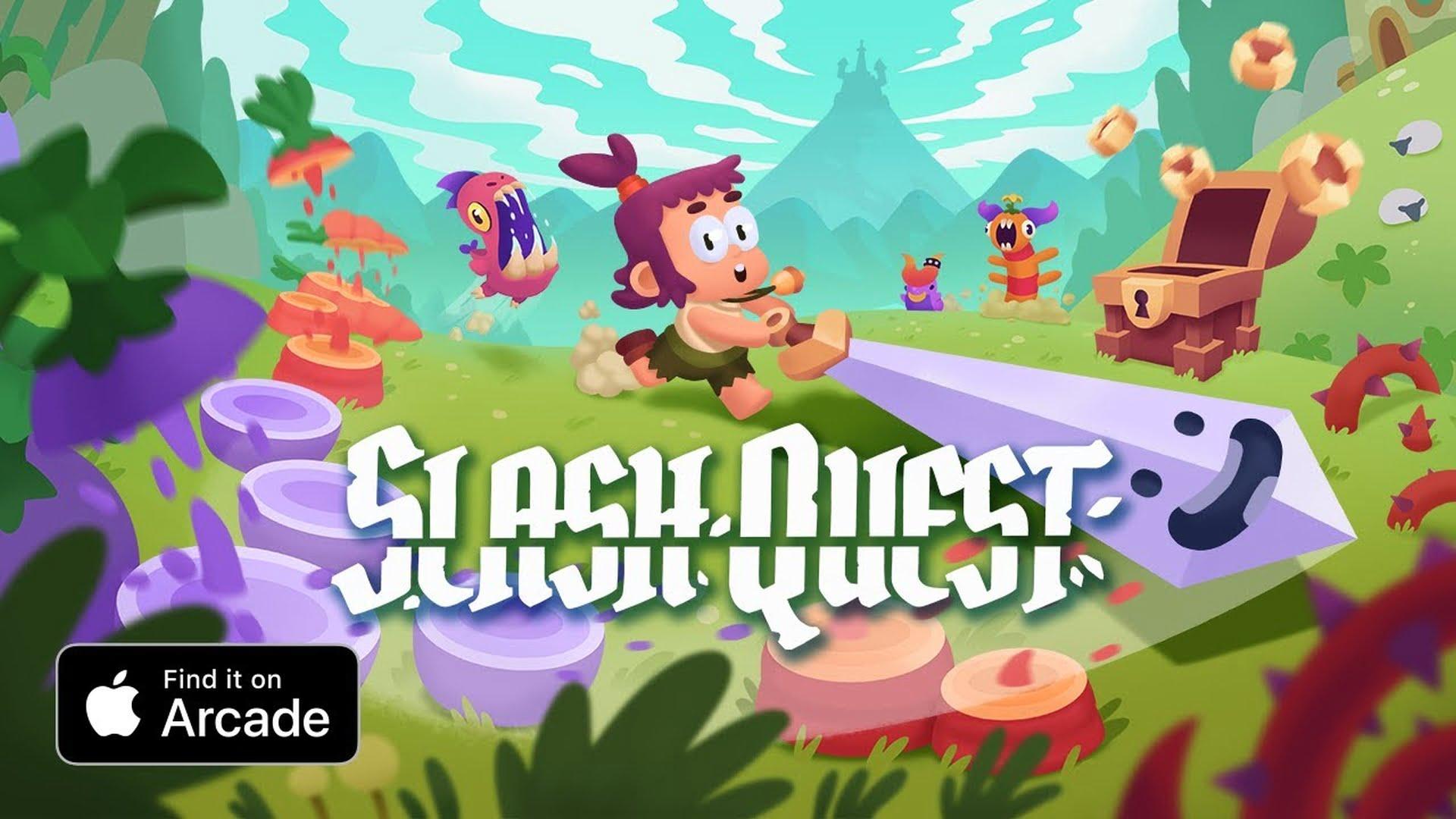 """Nowa gra """"Slash Quest"""" dostępna w usłudze Apple Arcade"""