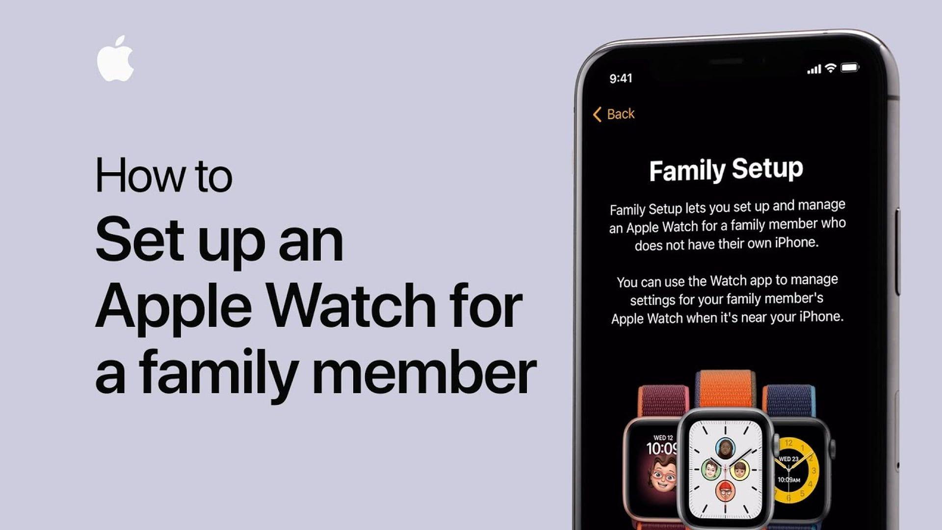 Poradnik Apple: Jak skonfigurować Apple Watch dla członka rodziny