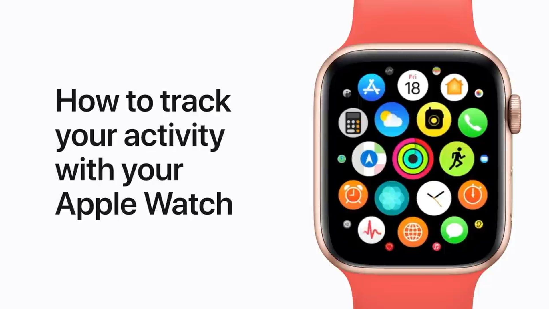 Poradnik Apple: Jak śledzić swoją aktywność na Apple Watch