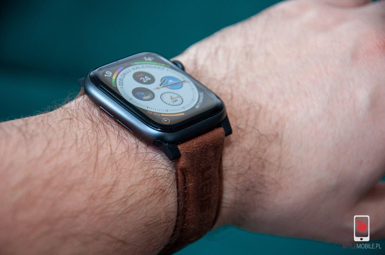Recenzja UAG LEATHER Straps – skórzany pasek wysokiej jakości dla Apple Watch'a 42/44 mm