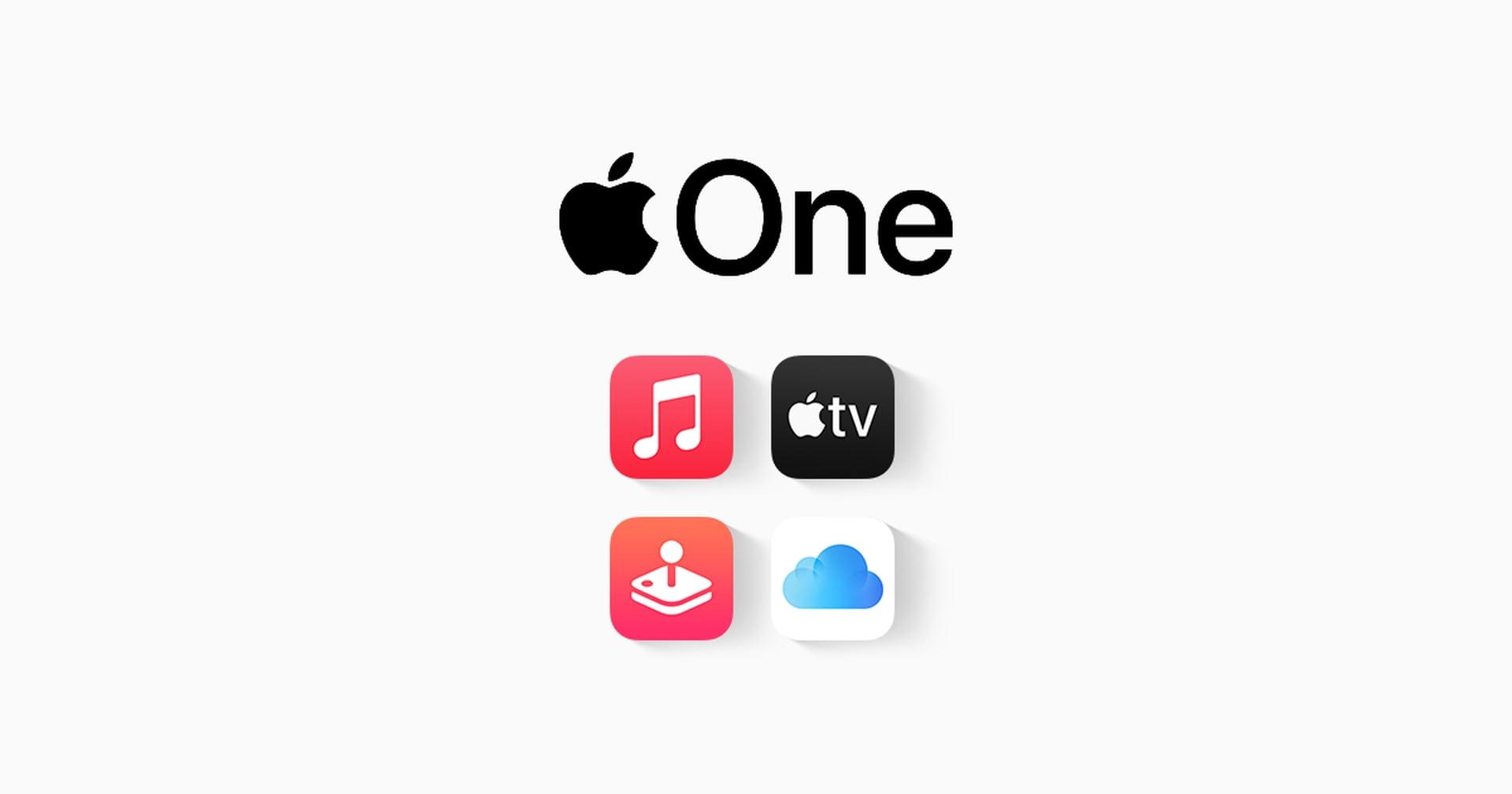 Usługa Apple One jest już od dziś oficjalnie dostępna