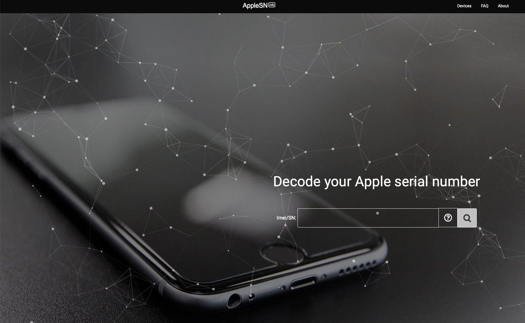 AppleSN.info miejsce, w którym sprawdzisz status Find My iPhone i nie tylko ZA DARMO 😱