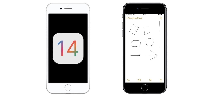 iOS 14 – narzędzie do rozpoznawania kształtów