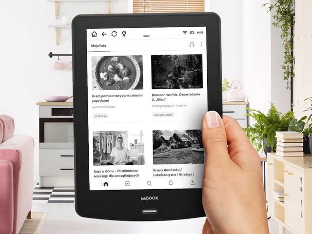 inkBOOK Calypso pozwala na instalacjęaplikacji Pocket