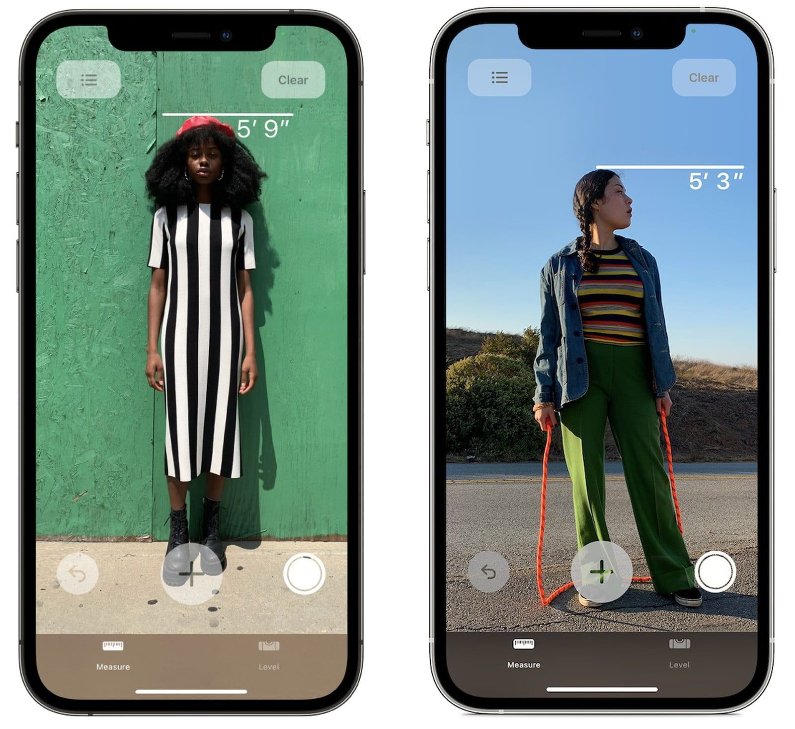 iPhone 12 Pro pozwala wykonać pomiar wysokości osoby, dzięki skanerowi LiDAR