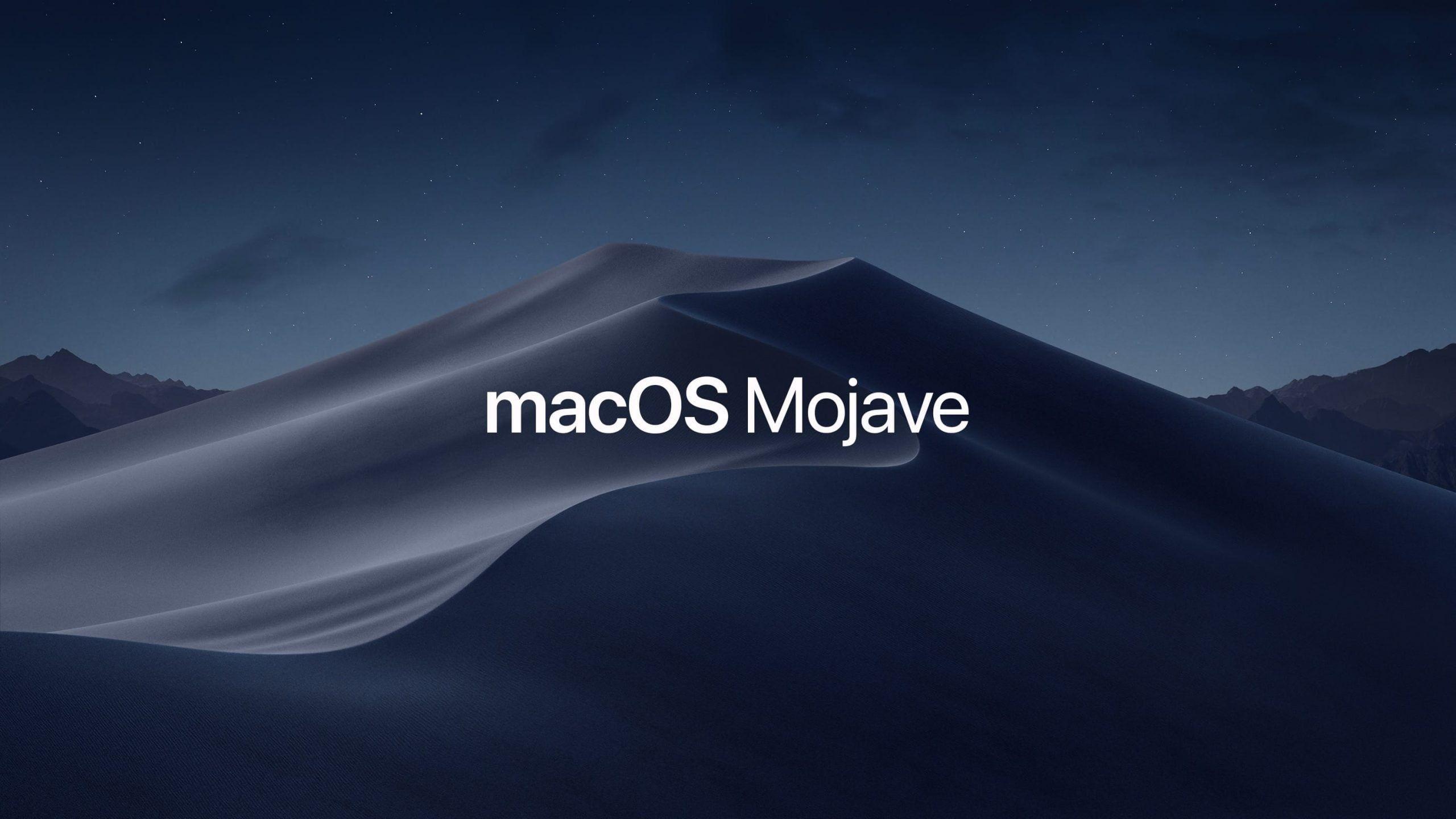 Apple udostępnia dodatkową aktualizację systemu macOS Mojave 10.14.6