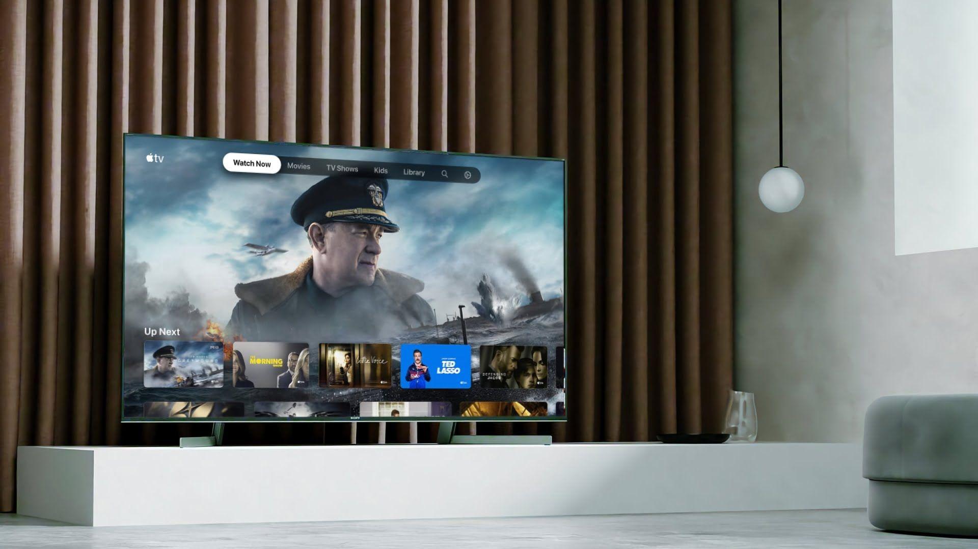 Aplikacja Apple TV dostępna w kolejnych telewizorach Sony