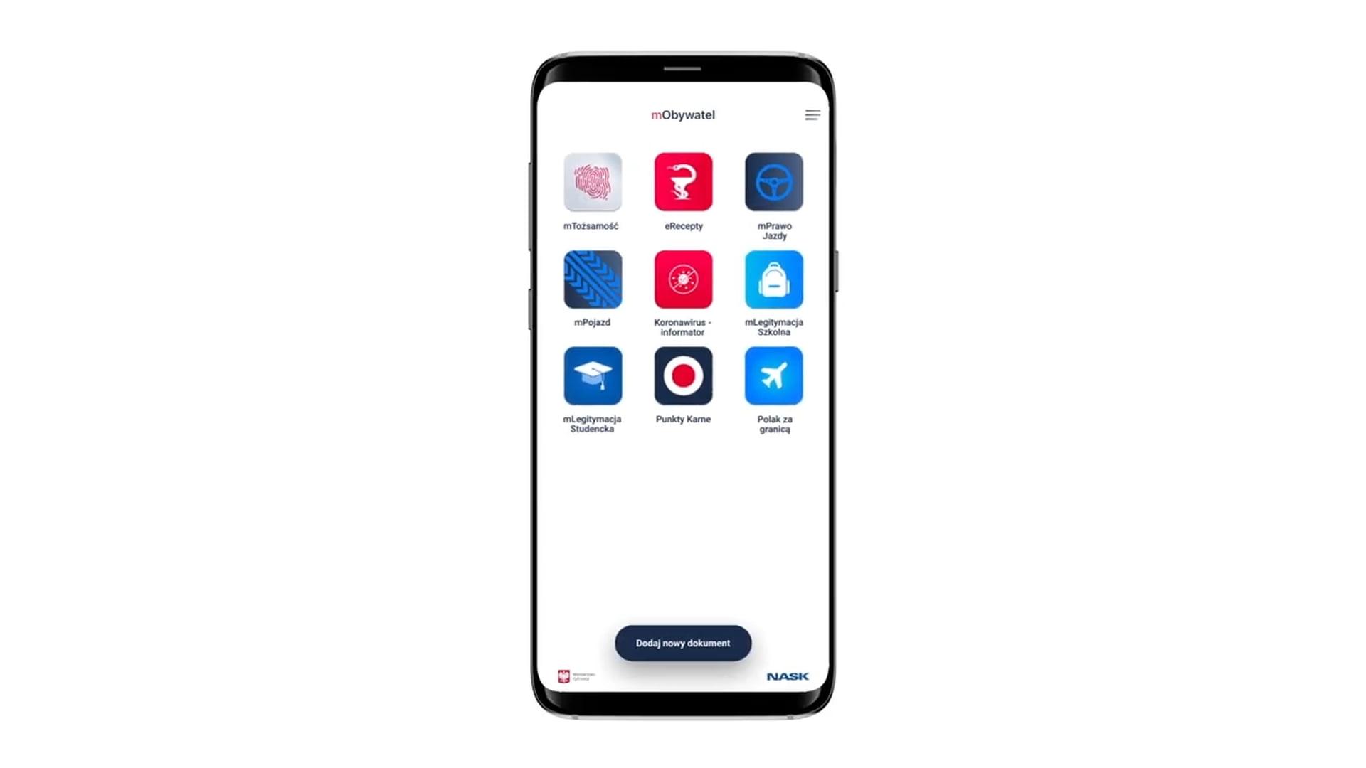 Dostępna nowa odświeżona wersja aplikacji mObywatel