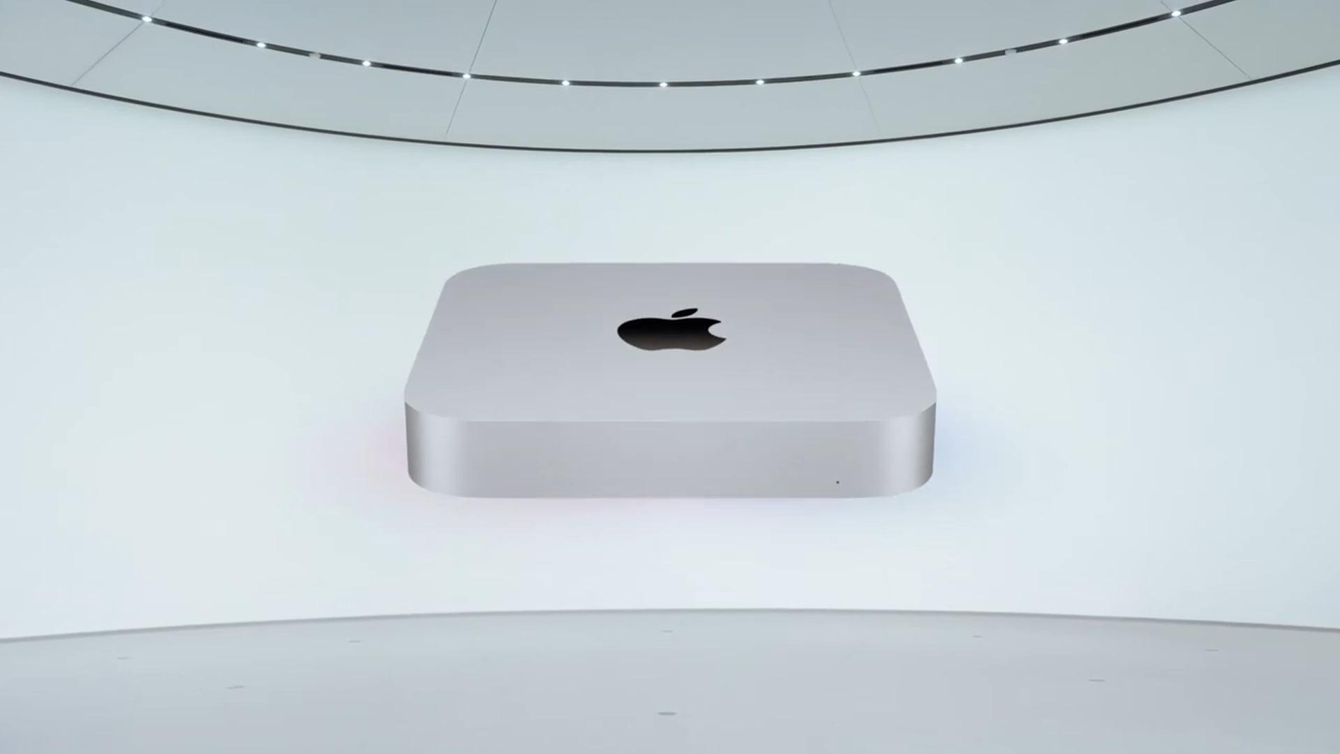 Firma Apple przedstawia nową wersję komputera Mac mini