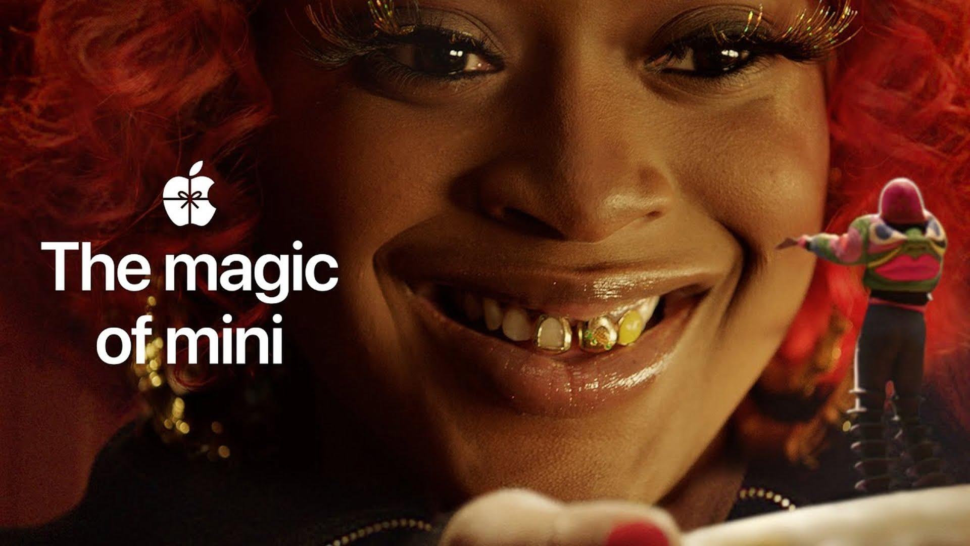 """Firma Apple udostępniła reklamę świąteczną """"The magic of mini"""""""