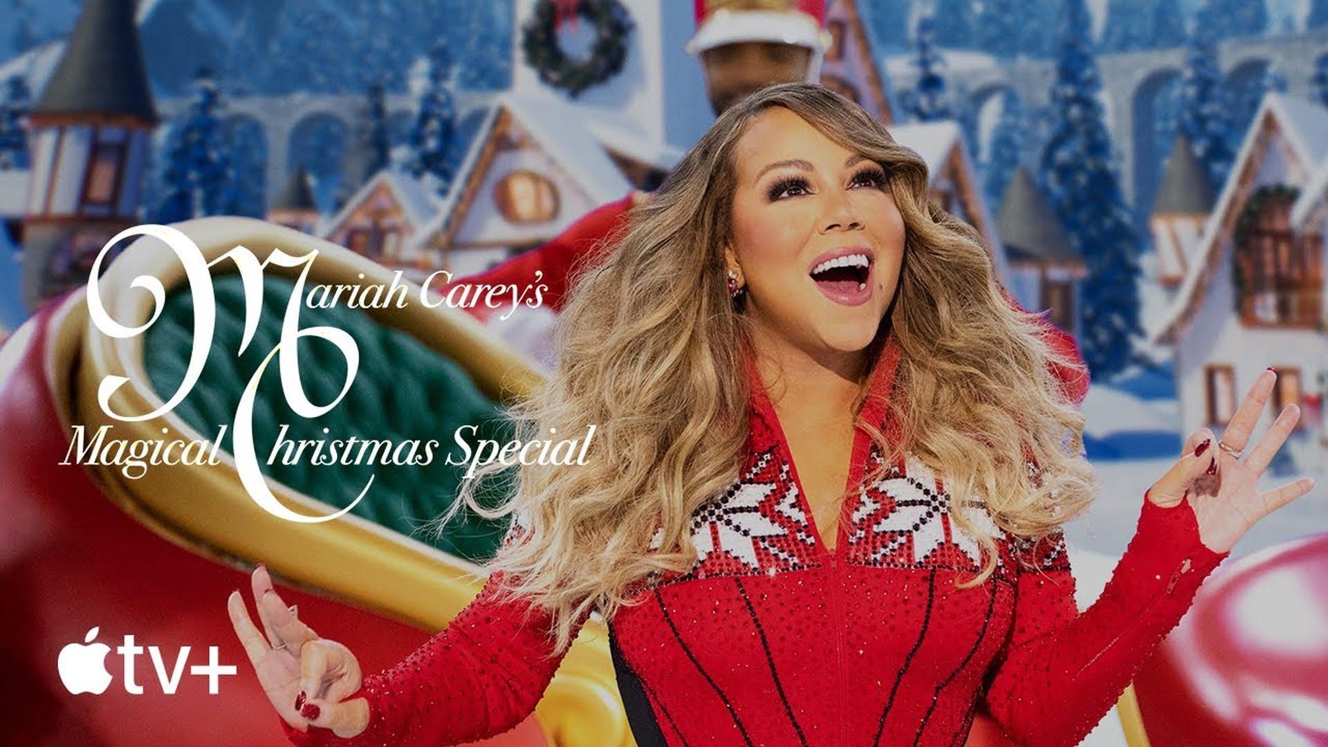 """Firma Apple udostępniła zwiastun """"Magiczne Święta z Mariah Carey"""""""
