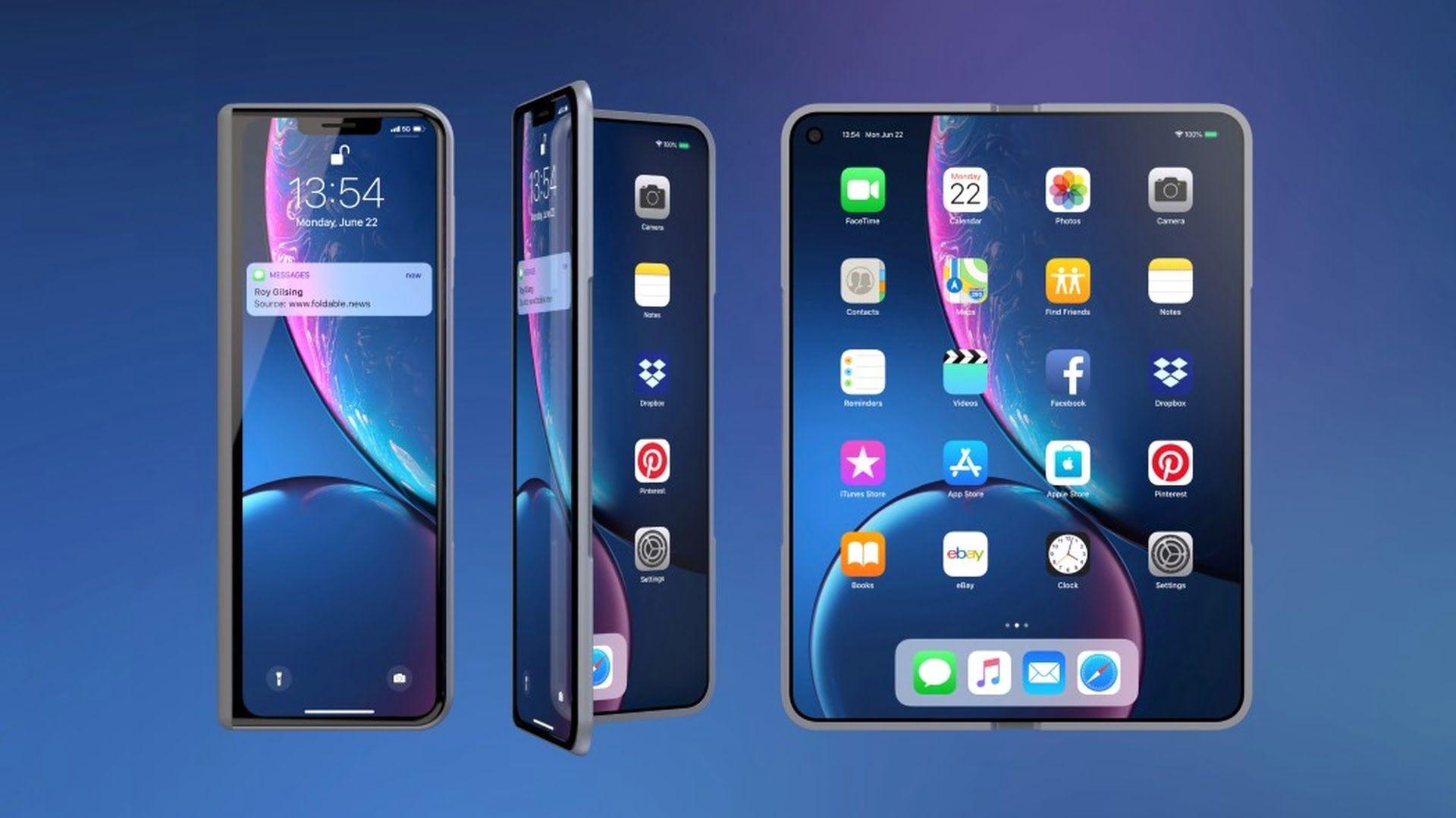 Firma Apple wysyła na testy składane iPhone'y do Foxconnu