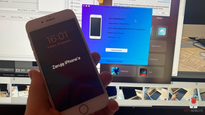 Jak wymazać zawartość iPhone bez instalacji oprogramowania przez iTunes/Finder i znajomości kodu?