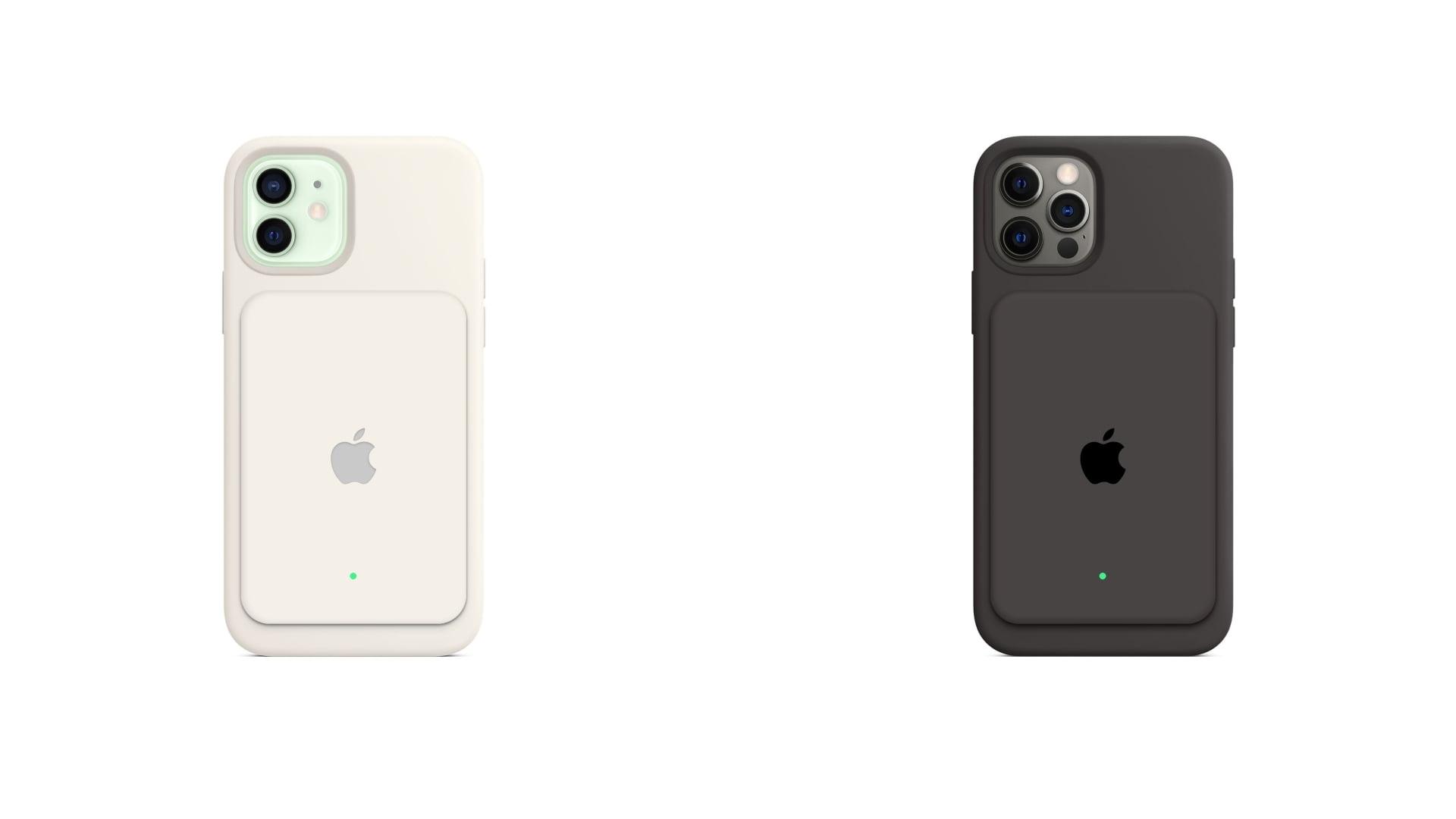 Koncepcja wyglądu baterii MagSafe dla iPhone'ów 12