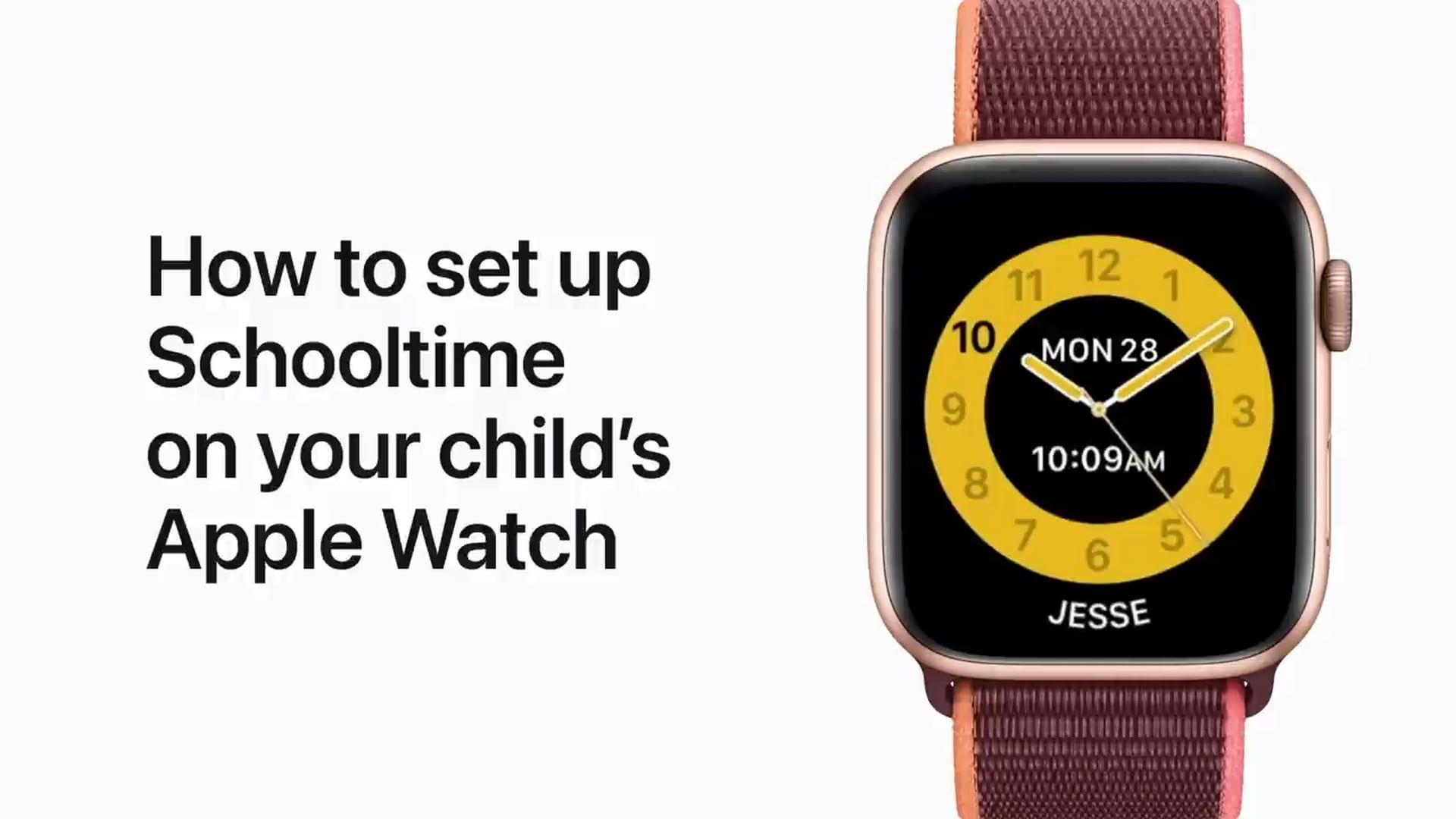 Poradnik Apple: Jak skonfigurować czas szkolny na Apple Watch