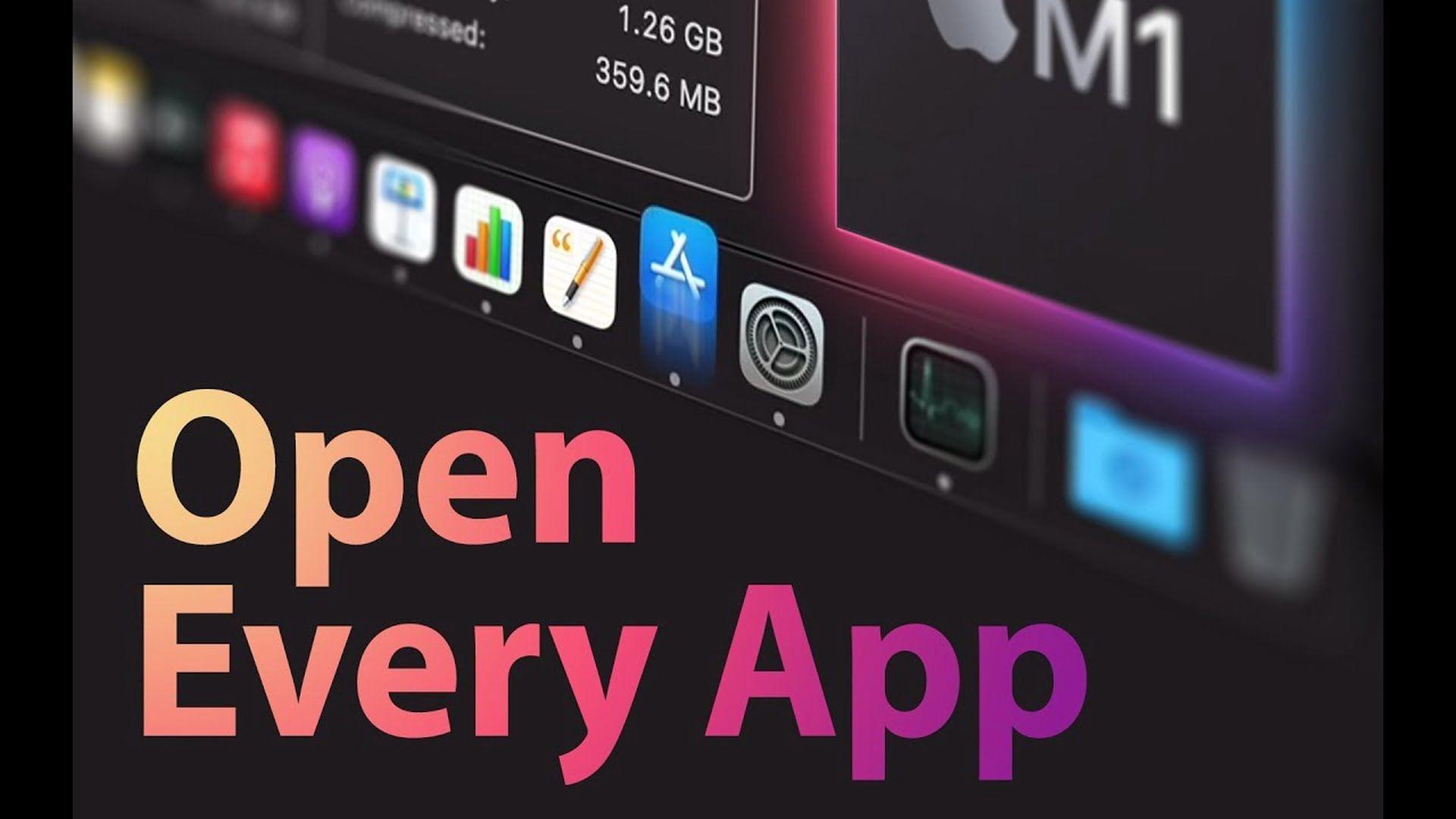 Szybkość uruchamiania aplikacji na MacBooku Air z procesorem M1