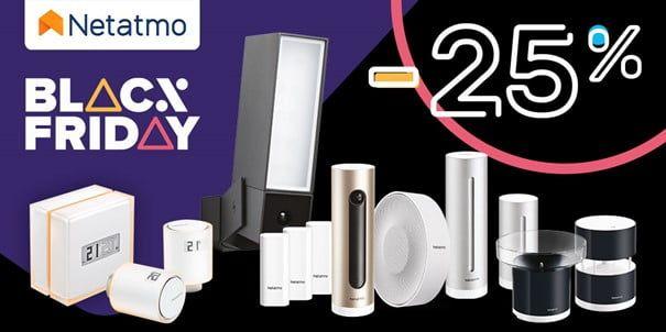 25% Rabatu od dziś na produkty Netatmo!
