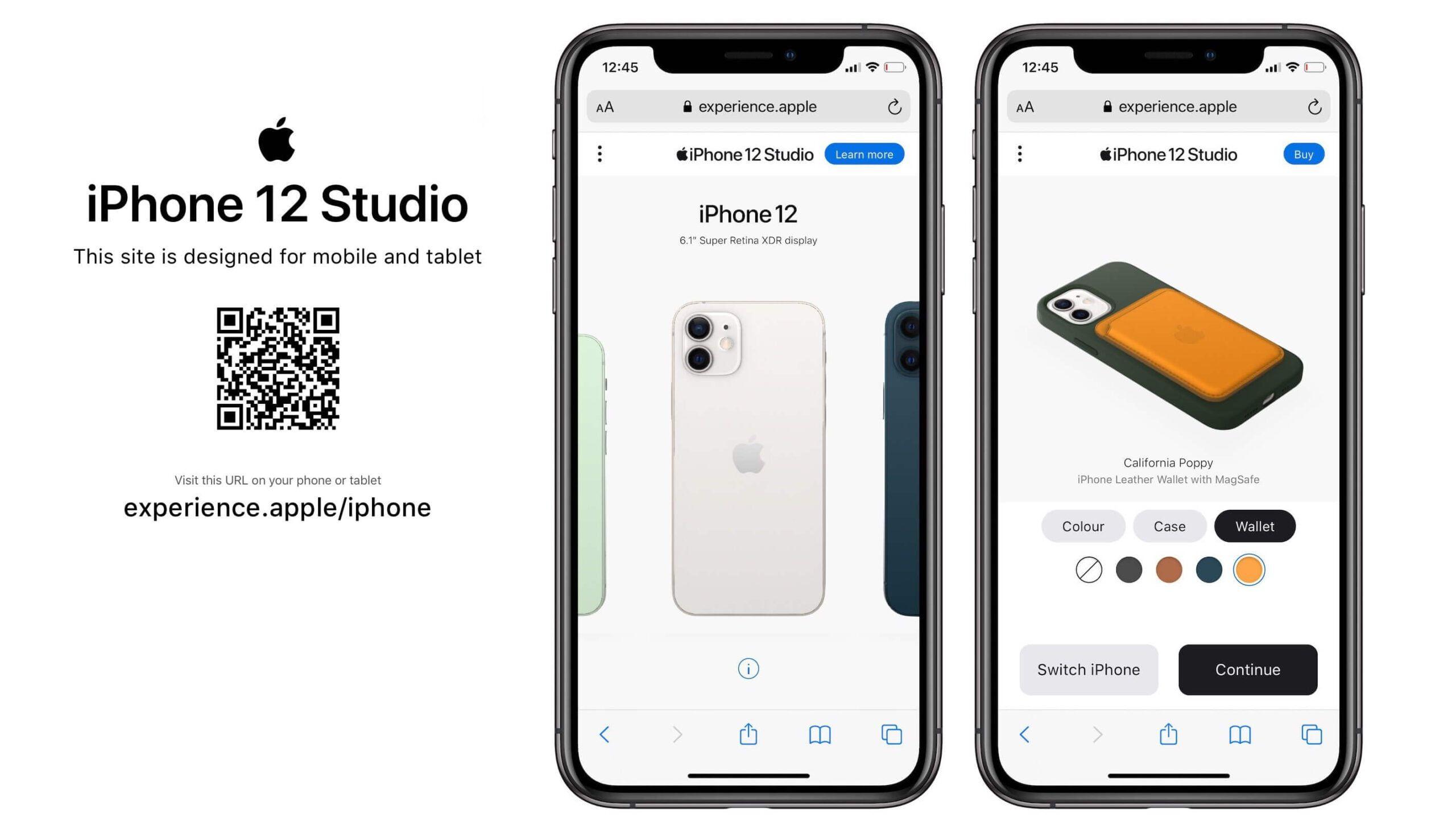 """Apple uruchomiło """"iPhone 12 Studio"""", gdzie spersonalizujemy sobie swojego iPhone'a!"""