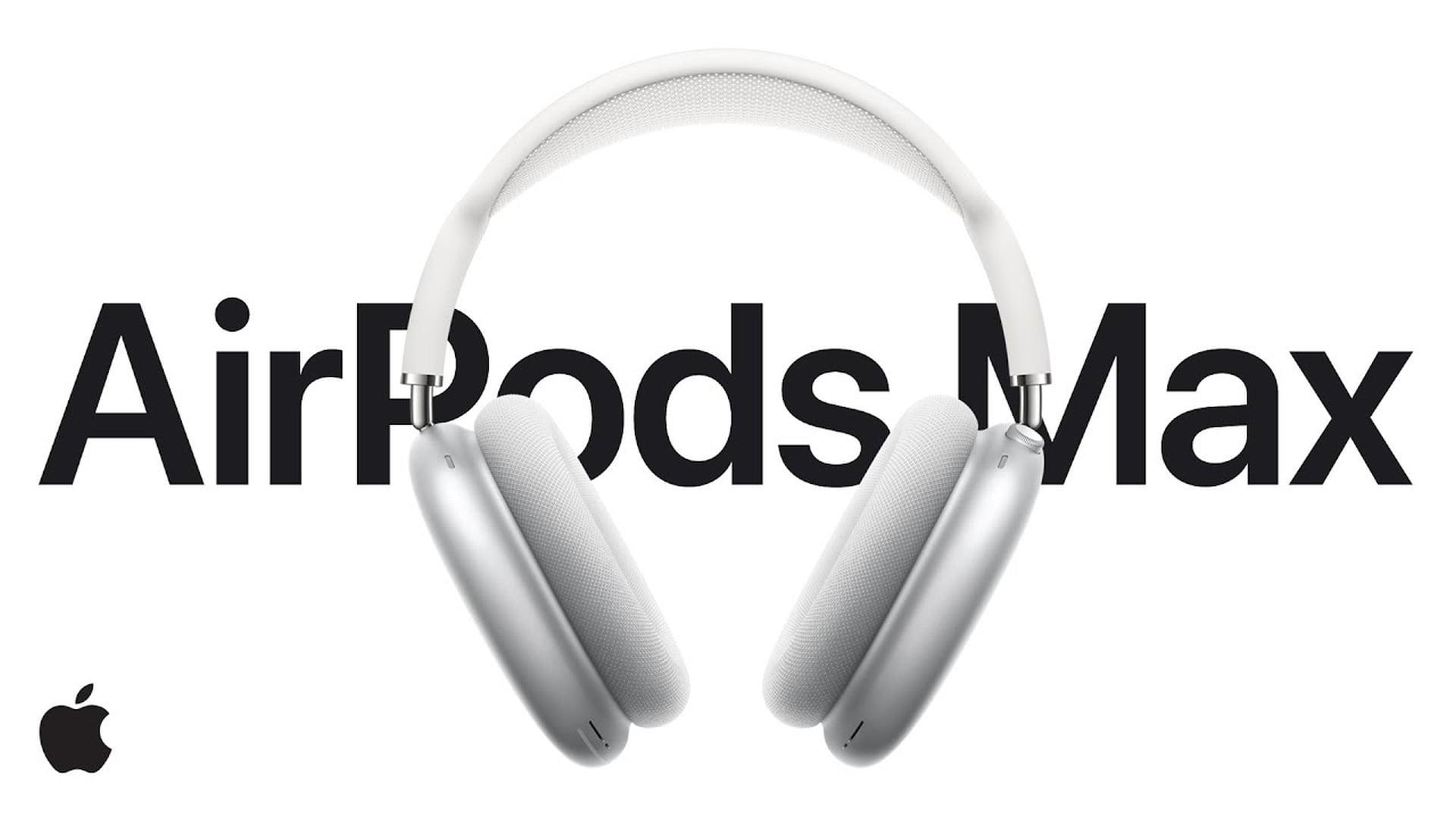 Dostępne reklamy słuchawek AirPods Max w serwisie YouTube