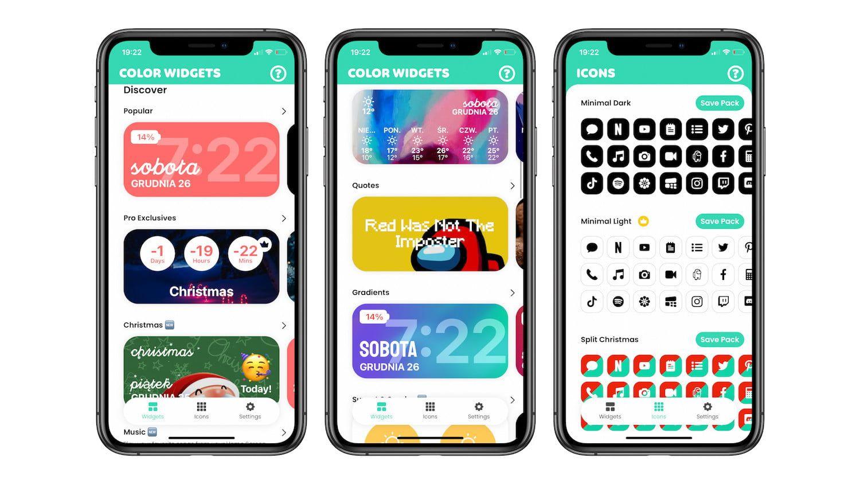 #68 Aplikacja tygodnia – Color Widgets. Kolorowe zegary na ekranie głównym!