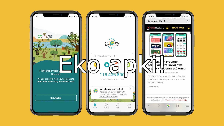 Żyj ekologiczniej, czyli zestawienie najlepszych eko aplikacji z App Store!